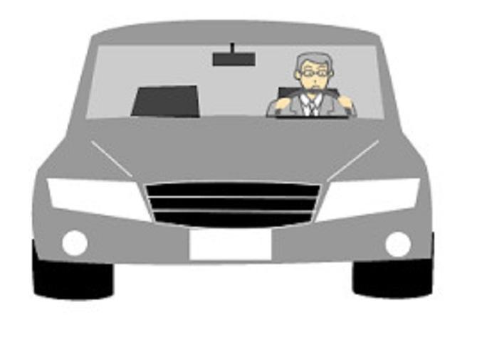 動き出す車