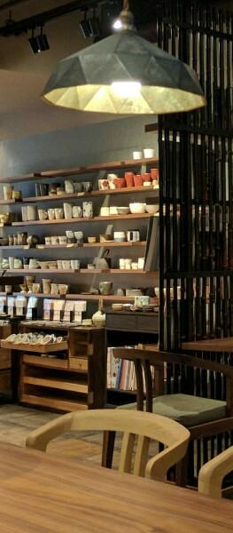 大阪茶会(ランプとテーブル)