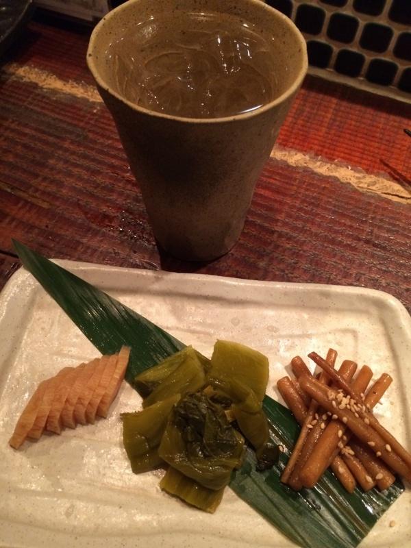 和酒に合う皿盛り漬物②