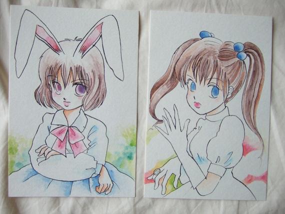 少女ウサギ