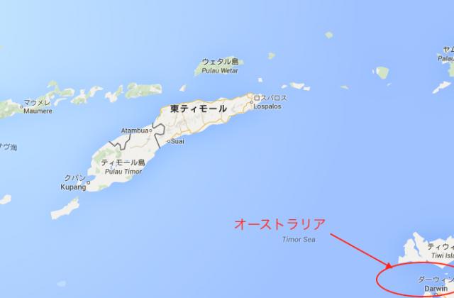 東ティモール地図2