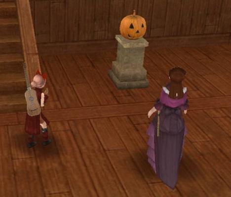 こわいかぼちゃ