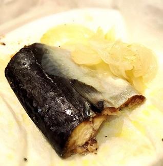 鯖のパピヨット