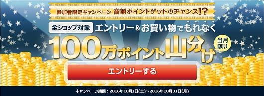 ECナビ_100万ポイント山分け_201610