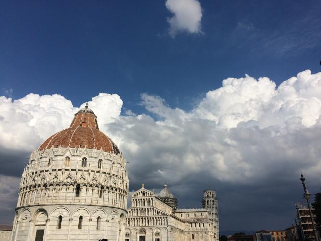 nuvole a pisa