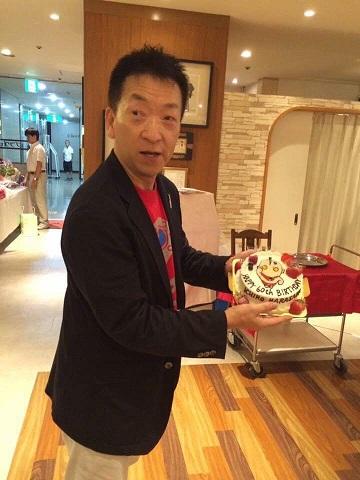 先生とケーキ