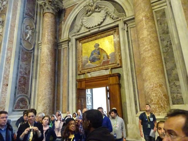 4月28日 聖なる扉内部