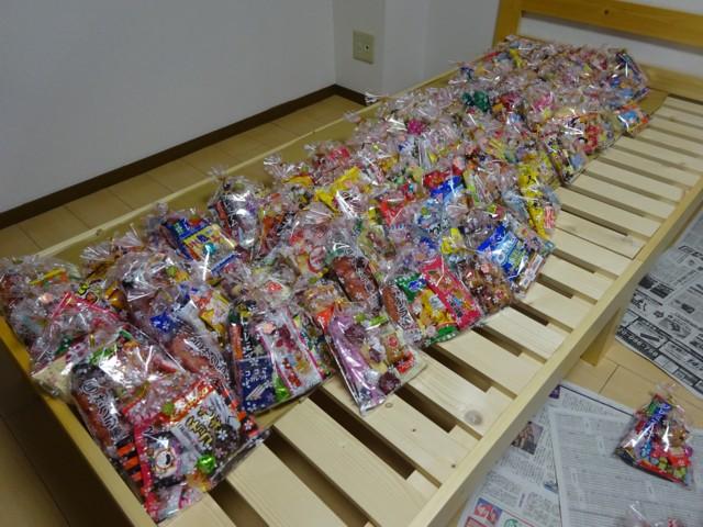 4月吉日 菓子まき菓子