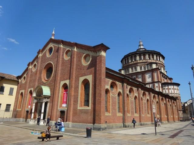 5月3日 サンタ・マリア・デッレ・グラツィエ教会