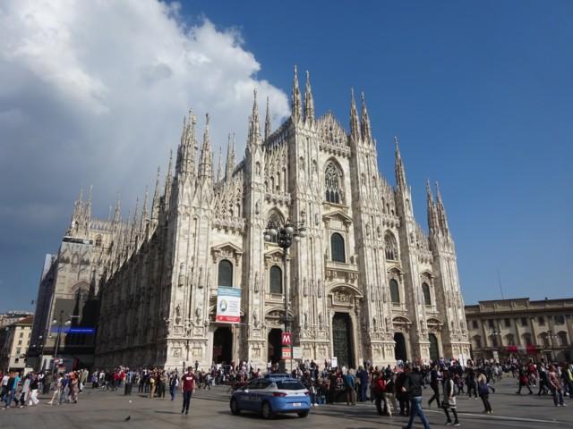 5月3日 ミラノ大聖堂