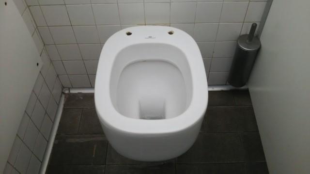 5月4日 イタリアで結構あるトイレ