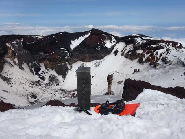 5月14日 日本最高峰富士山剣ヶ峰