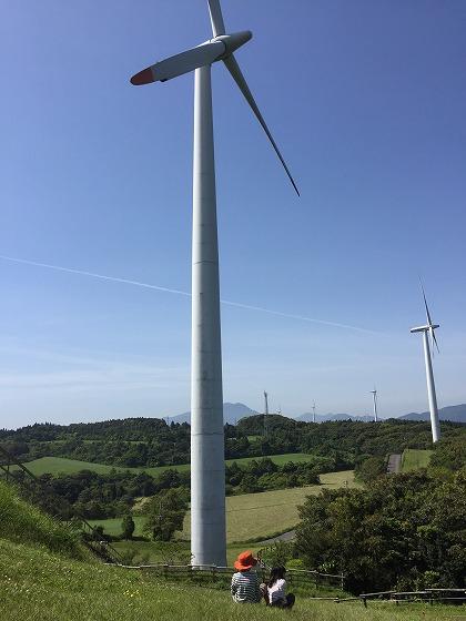 14-輝北うわば公園風力発電