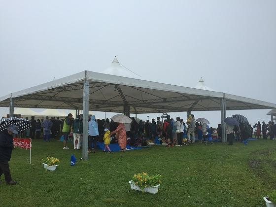 2-雨の中開催