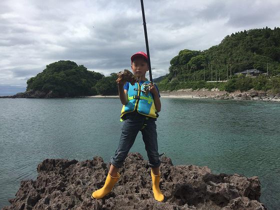 2釣ったよアラカブ釣り20160515