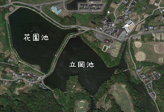 熊本バス釣り大会地図