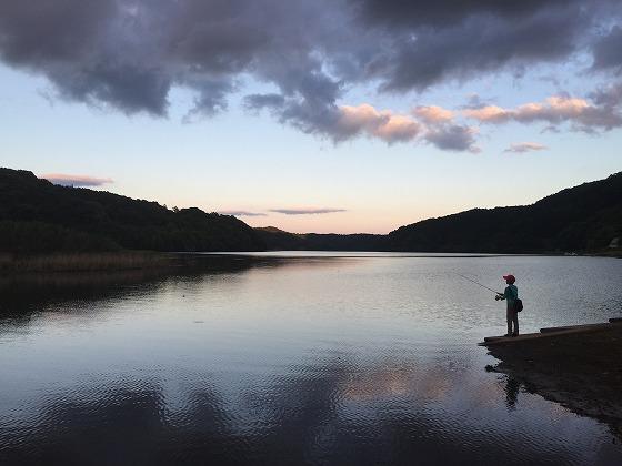 バス釣り-大隅湖