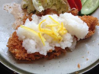 おろしかつ定食(カツUP)