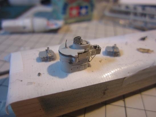 叢雲艦橋と砲台