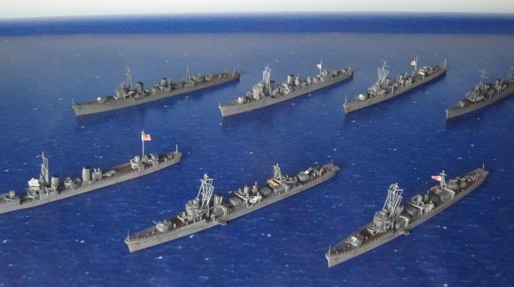 駆逐艦7隻集合