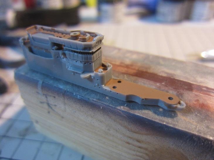 飛鷹艦リノリウムだけ塗装