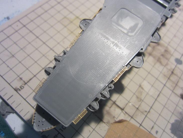 飛行甲板エッチング