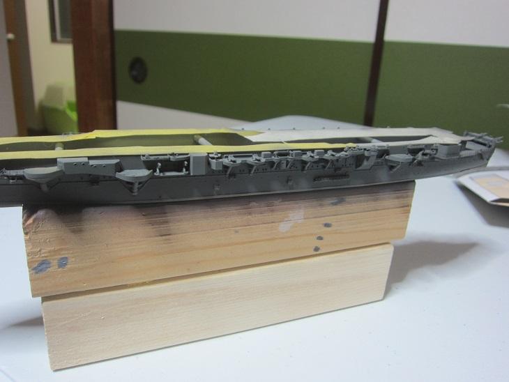飛鷹艦側面塗装
