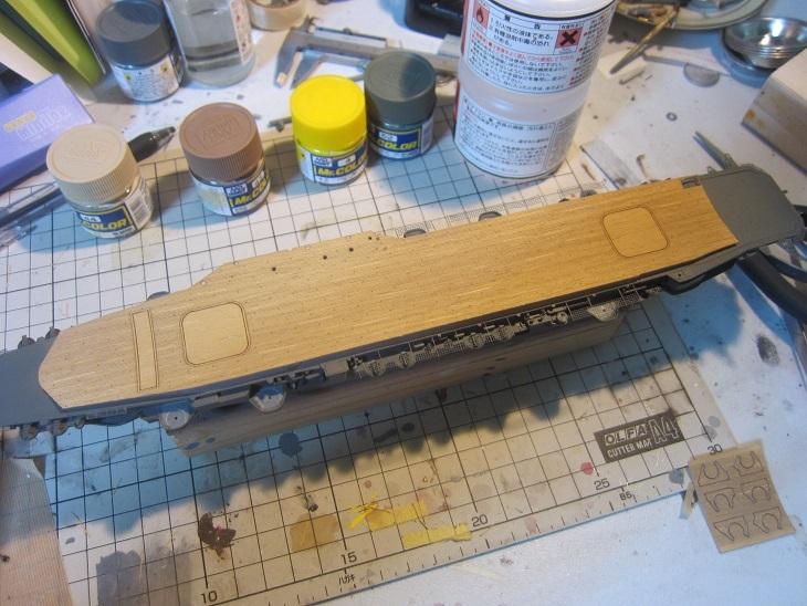 飛鷹木甲板5色終了