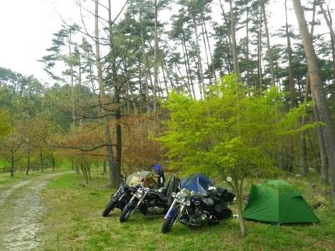 2016 御座松キャンプ場