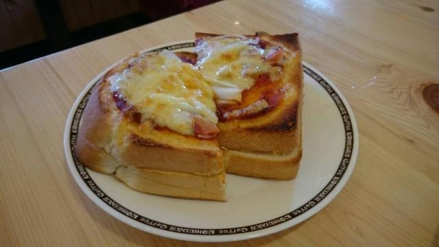 20160813_たっぷりたまごのピザトースト1