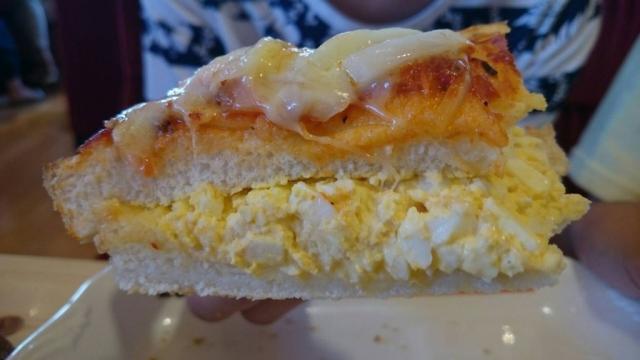 20160813_たっぷりたまごのピザトースト2