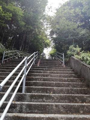 のいち動物公園 階段