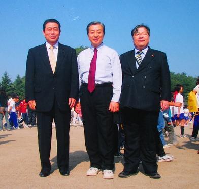 小坂憲次国会議員と