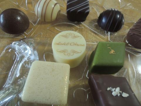 ホテルオークラのチョコレート詰め合わせ 201602 (9)