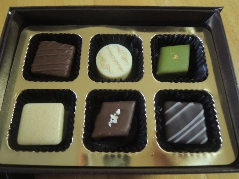 ホテルオークラのチョコレート詰め合わせ 201602 (7)