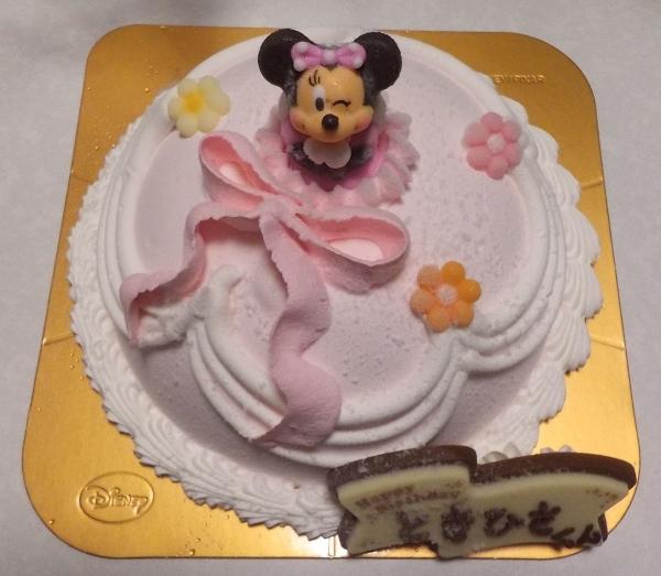 サーティワンアイスケーキ ドレスアップミニーちゃん (1)