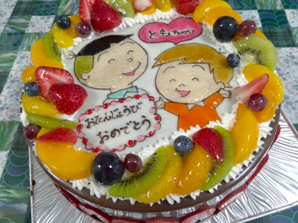 ケンテル201606 ときひさ誕生日ケーキ (7)
