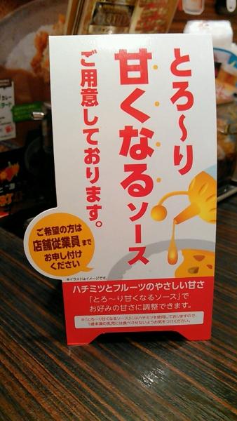 ココイチ スープカレー 201608 (3)