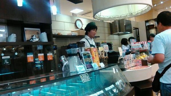 カルディーズクラブ王寺店 コーヒーソフトクリーム (2)