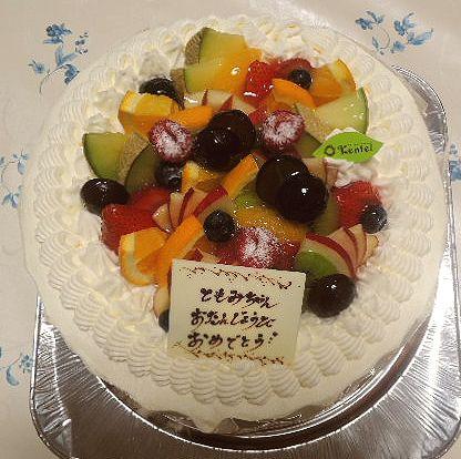 ケンテル ともみバースデーケーキ 201607 (4)