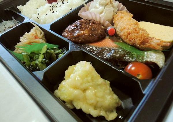 みよし野 たつたがわ店のお弁当 (1)