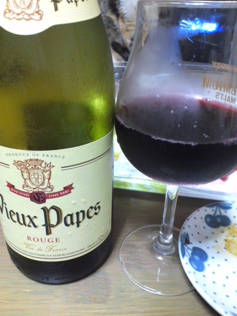 Vieux Papes Rouge(ヴューパープ 赤)