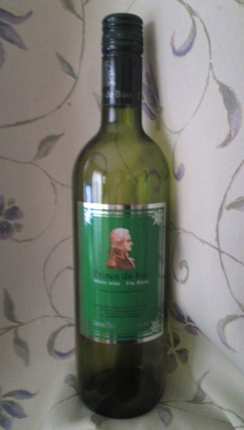 Prince de Bao White wine Vin Blanc(プリンス デ バオ 白)
