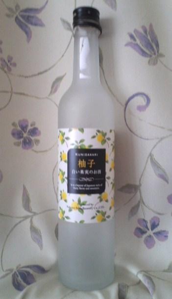 KUNIZAKARI 柚子 白い果実のお酒