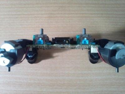 PS4アナログスティック修理I