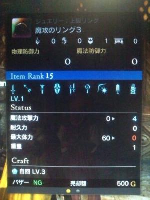 自回LV3未鑑定装具ドラゴンズドグマオンライン