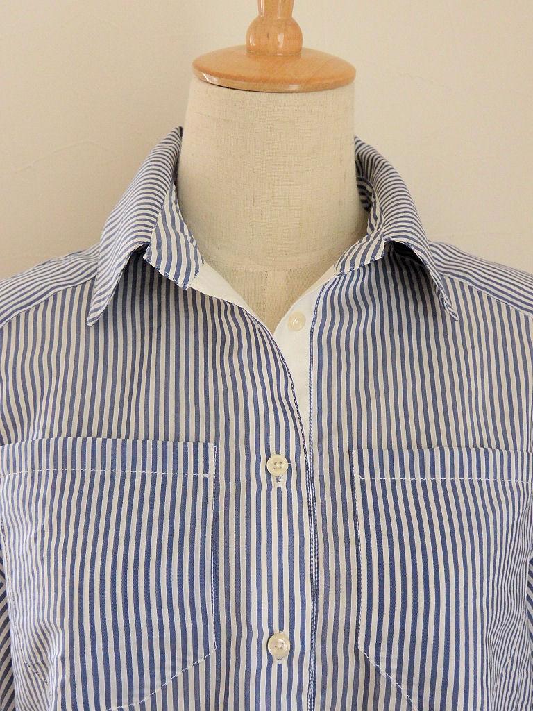 ストライプシャツ6