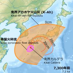 鬼界カルデラ噴火