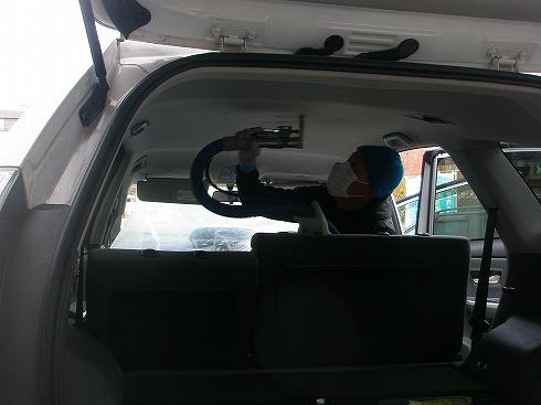 車 ルームクリーニング