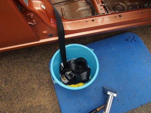 車内排泄 清掃